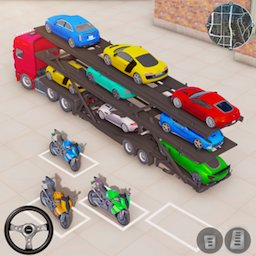 Image of Dino Transport Truck Games
