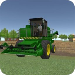 Image of Farmer Harvest Simulator 3D - Tractor Hauling