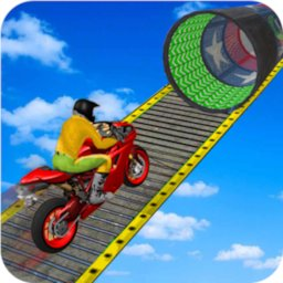 Image of Racing Moto Bike Stunt Impossible Track Game