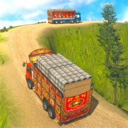 Image of Indian Cargo Truck Driver Simulator Game -Forklift