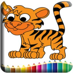 Image of Wild Animals Coloring Book