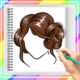 How to Draw Hairstyle 2021 Step by Step