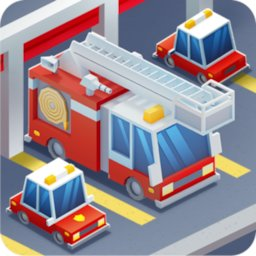 Idle Firefighter Tycoon - Fire Emergency Manager icon