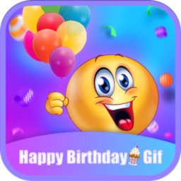 Image of Happy Birthday GIFs & Love Roses Sticker