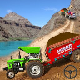 Image of Real Tractor Trolley Cargo Farming Simulation Game
