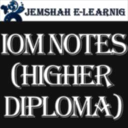 Image of I O M NOTES (HIGHER DIPLOMA)