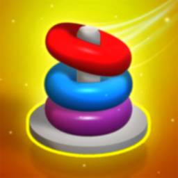 Image of Hoop Stack Puzzle