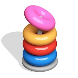 Image of Hoop Stack 3D