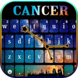 Image of Cancer Galaxy Keyboard Background
