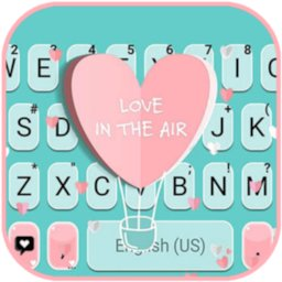 Image of Girly Love Keyboard Background