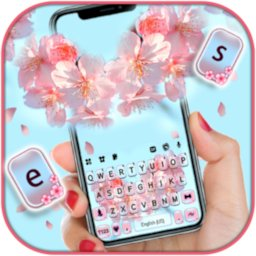 Sakura Flower Keyboard Background icon