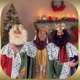 Image of Your Photo with Three Wise Men