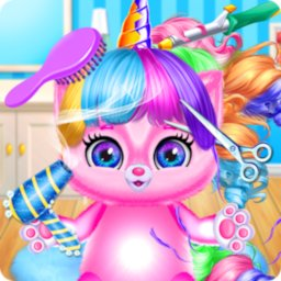 Image of Little Unicorn Baby Kitty Hairs Daily Caring Salon
