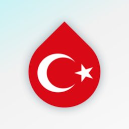 Learn Turkish language and words for free - Drops icon