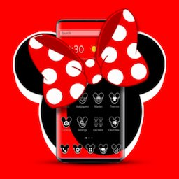 Stylish Mice Bowknot Launcher