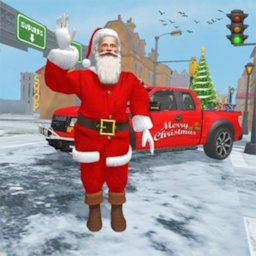 Image of Santa Christmas Gift Delivery: Gift Game