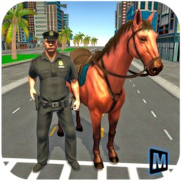 Image of Mounted Police Horse Chase 3D