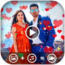 Image of Heart Photo Effect Video Maker With Music