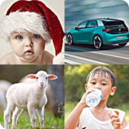 Image of 4 pics 1 word - Quiz Game
