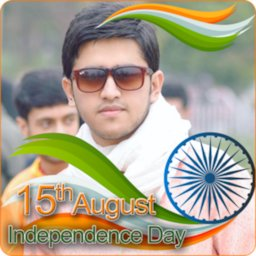 Image of India Flag Face Photo Maker & 15th August DP