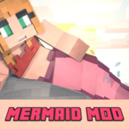 Image of MCPE Mermaid and Tail MOD