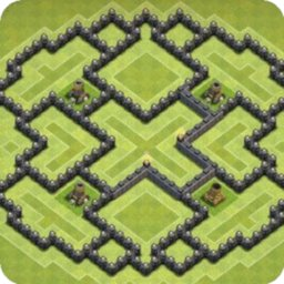 Image of Maps of Clash of Clans 2021