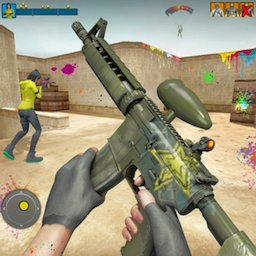 Paintball Shooting Games 3D icon