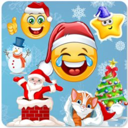 Image of Christmas stickers for whatsapp