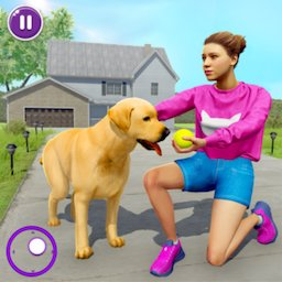 Image of Family Pet Dog Home Adventure Game