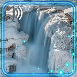 Image of Winter Ice Waterfall