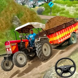 Image of Cargo Tractor Trolley Simulator Farming Game 2