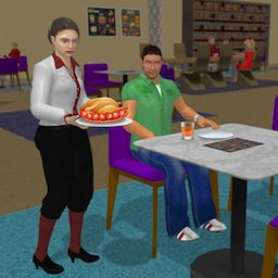 Image of Virtual Waitress Simulator