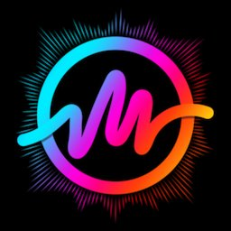 Mbit Music Particle.ly Video Status Maker & Editor icon