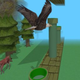 Image of Endless Flappy Eagle 3D