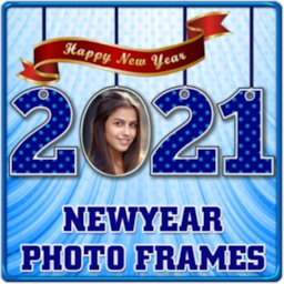 New Year 2021 Photo Frames