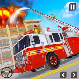 Image of Fire Truck Driving Rescue 911 Fire Engine Games