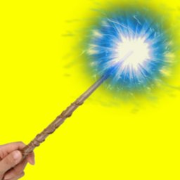 Magic wand for magic games. Sorcerer spells icon