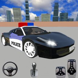 Spooky Police Car Parking Games
