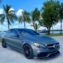 Image of Parking Mercedes C63 AMG City Drive
