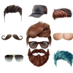 Image of Men Hair style photo Editor