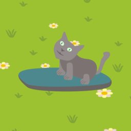 Image of Hoverboard Cat