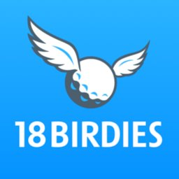 Golf GPS 18Birdies Scorecard & Yardage Rangefinder icon