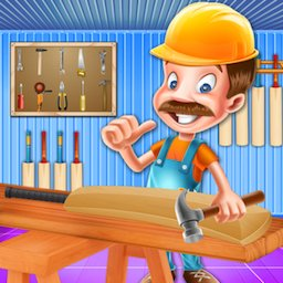Image of Cricket Bat Carpenter Shop - Wooden Craft Making