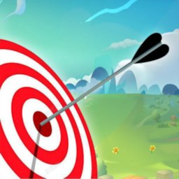 Archery Shooting Battle 3D Match Arrow ground shot icon