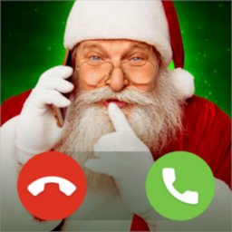 Fake Call from Santa Speak with Real Santa Claus icon