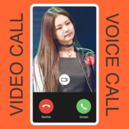 Image of BLACKPINK JENNIE KIM FAKE CALL