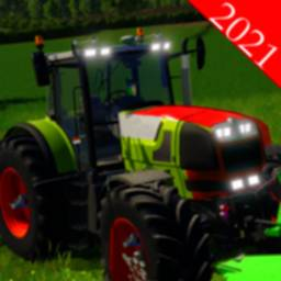 Image of Drive Modern Tractor Farming Simulator 2021