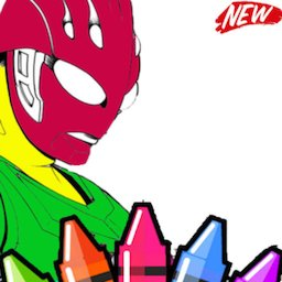 Ultra Book Hero Coloring New icon