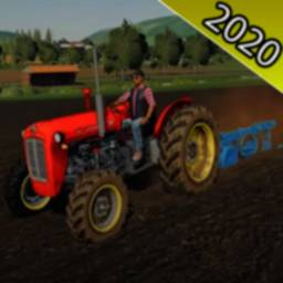 Image of Tractor Farming Drive Simulator:Village life
