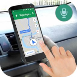 Voice GPS Driving Directions icon